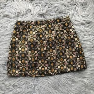 Beautiful Moroccan Embroidered Miniskirt